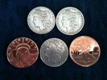 HOPPING HALF MORGAN DOLLAR SET