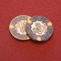 GRAVITY FLIPPER POKER CHIP J B PRO COIN LINE