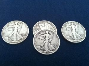 TRICEPTION COIN SET LIBERTY BY BOB SWADLING & MARK MASON